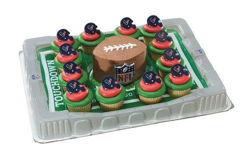 Houston Texans Cupcake Platter