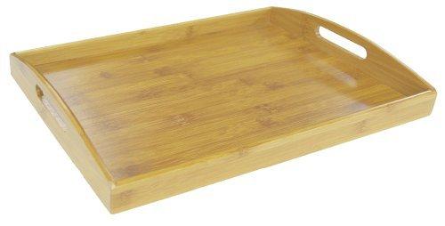 Home Basics Serving Tray Bamboo