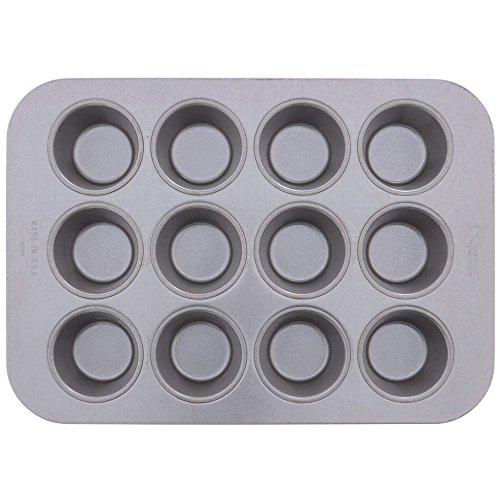 Chicago Metallic Bakeware Aluminized Steel Glazed Cupcake  Muffin Pan