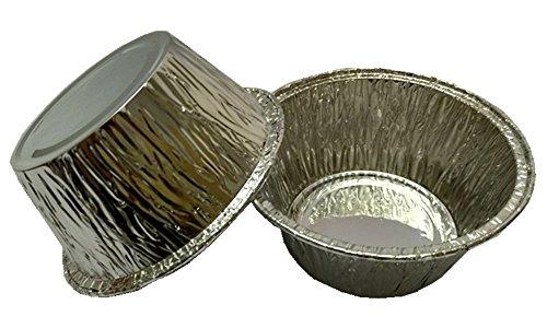 MYStar 31 Disposable Aluminum Foil Mini CupcakeMuffin Baking Cups Pack of 120