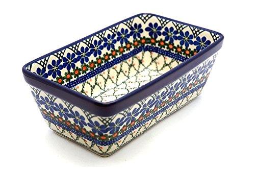 Polish Pottery Baker - Loaf Dish - Primrose