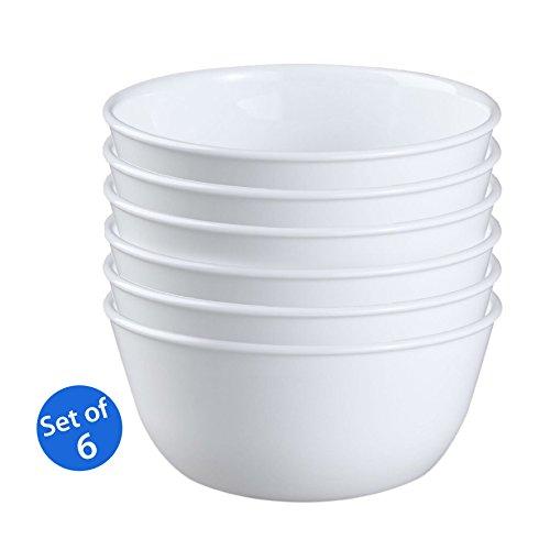 Corelle Livingware 1032595 28-Ounce Super SoupCereal Bowl Winter Frost White - Set of 6