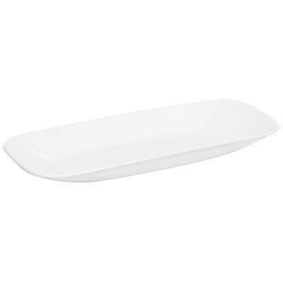 Corelle Square Round 10-12-Inch Serving Tray Pure White