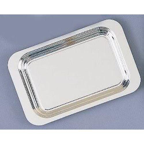 Elegance Silver 82423 Rectangular Silver Plated Plain Tray 14 x 9