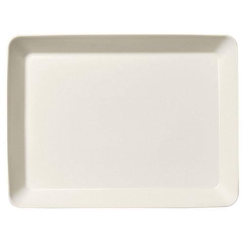 Teema White Platter 24cm by 32cm