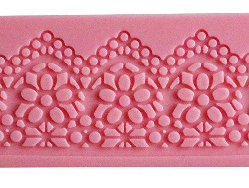 1PCS Silicone Cake Lace Mold Cake Silicone Mat Moule Moldes de Silicone Para Fondant Cake Baking