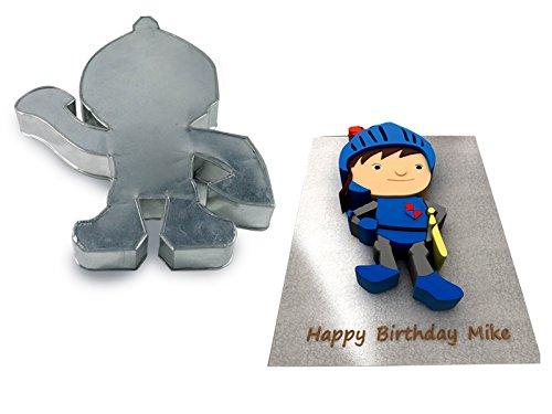 Mike The Knight Shaped Cake Pan Birthday Novelty Baking Cartoon Themed Cake Tin
