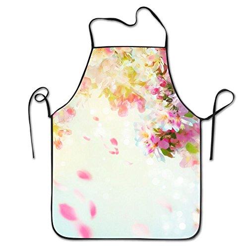 Peach Blossom Fantasy Novelty Baking Standard Apron 100 Polyester For Men Women