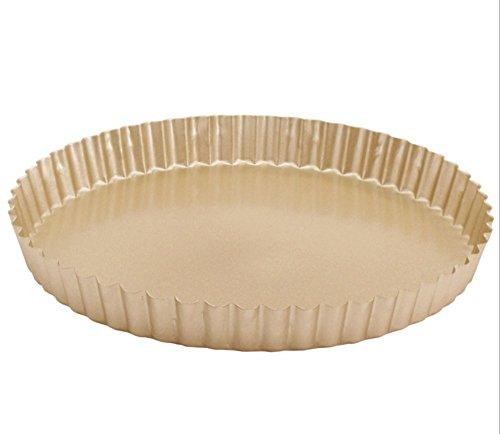 10 Inch Nonstick Round Tart Pie Quiche Chrysanthemum Pan Round Pizza PanGolden Good News