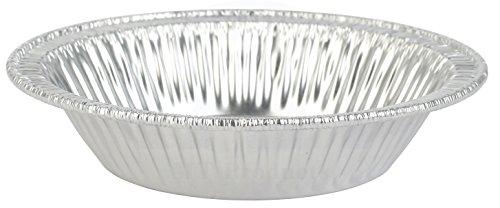 MT Products 4 14 Disposable Aluminum Foil Tart  Pie Pan 78 Deep - 50 Pieces