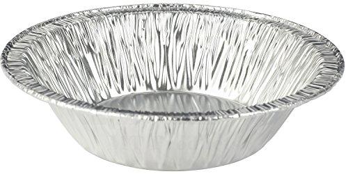 MT Products 5 Inch Disposable Aluminum Foil Tart  Pie Pan 1 14 Deep - 50 Pieces