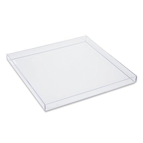 Mirart Clear Acrylic Tray 12 x 12