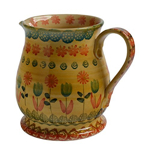 Italian Dinnerware - Water Pitcher - Handmade in Italy from our Festa Collection