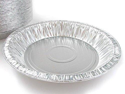 Disposable Aluminum 8 Deep Pie Pan 816- 20 Oz Capacity 50