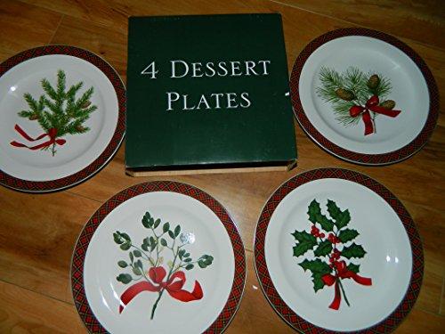 SAKURA Holiday Greens Dinnerware - Various Pieces SALAD PLATES
