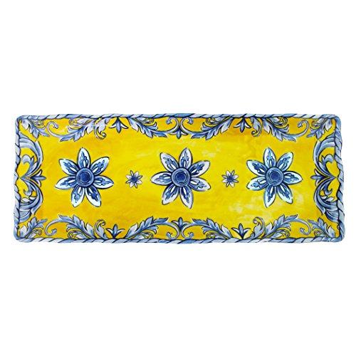 Le Cadeaux Melamine Porto - Baguette Tray 15 by 6 inches