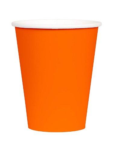 Orange Peel 9oz Paper Cups