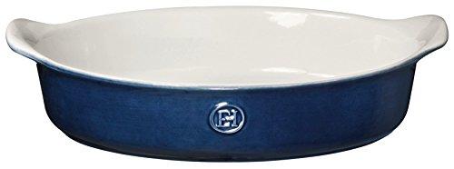 Emile Henry 559028 HR Ceramic Small Oval Baker Twilight