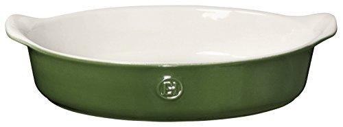 Emile Henry 629029 HR Ceramic Individual Oval Baker Spring