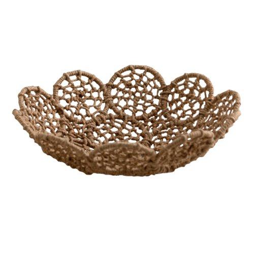Shiraleah Noemi Macrame Decorative Platter