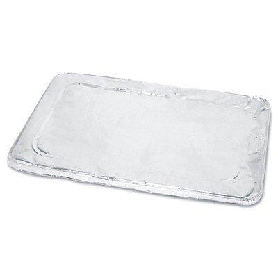 BWKLIDSTEAMFL - Boardwalk Full Size Steam Table Pan Lid Aluminum 50case