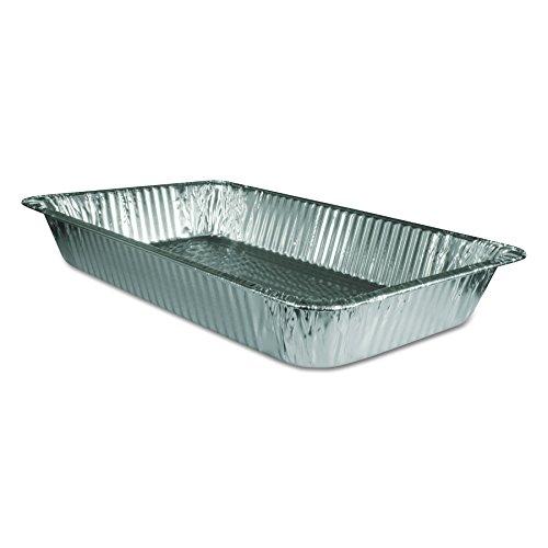 Handi-Foil of America 20197050U Steam Table Aluminum Pan Full-Size 3 316 Deep Case of 50