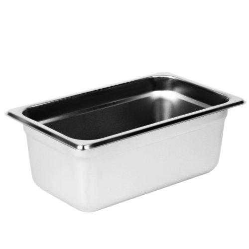 Excellante Quarter Size 4-Inch Deep 24 Gauge Anti Jam Pans