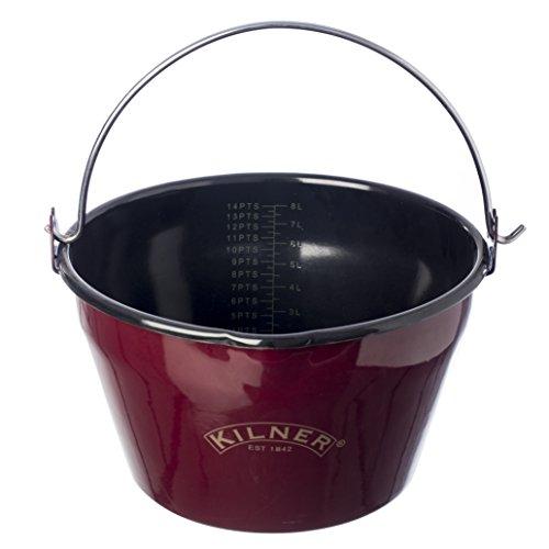 Kilner Red Enamel Jam Pan 85-Quart