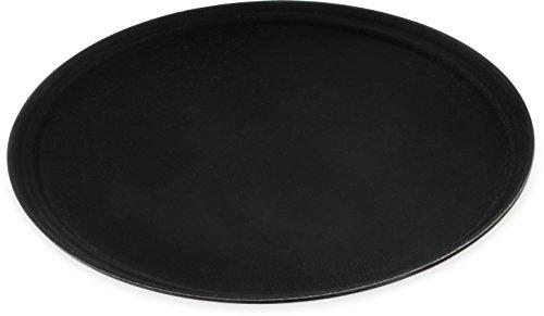 Carlisle 3100GR004 31 Black Griptite Oval Tray