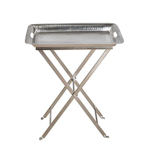 Handmade Aluminum Cocktail Tray Table India