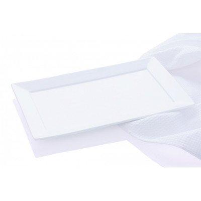 Maxwell and Williams Basics Cosmopolitan Rectangular Platter 7-Inch White