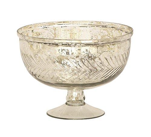 Glass Serving Bowl 7W 10H - 24632