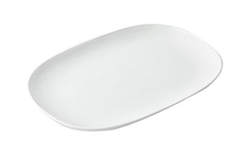 Bon Chef 2001 Aluminum Sizzle Platter 11-58 Length x 8 Width Sandstone White Pack of 6