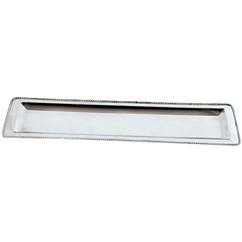 A&B Home KIH38145 Zuni Stainless Steel Platter