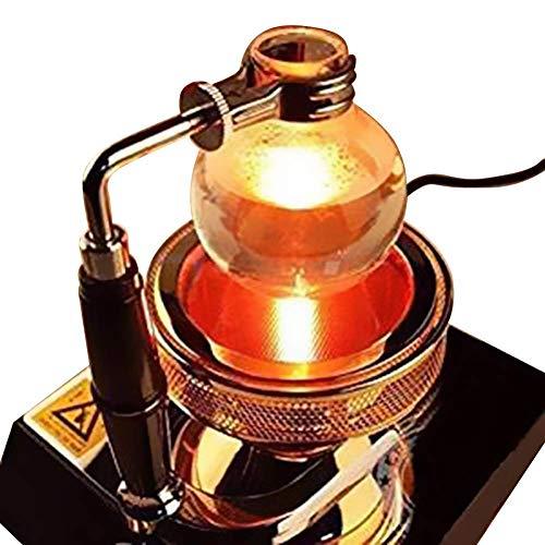 TOPCHANCES 110V Halogen Beam Heater Burner Infrared Heat for Hario Yama Syphon Coffee Maker-US Plug