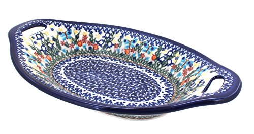 Polish Pottery Garden of Eden Bread Platter
