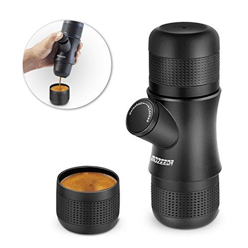 MOZEEDA Handheld Portable Coffee Maker Mini Espresso Machine Outdoor Travel Camping Espresso Maker