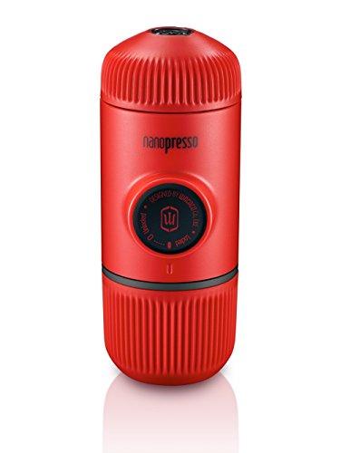 Wacaco Mini Portable Espresso Maker Manual Coffee Maker Nanopresso Red