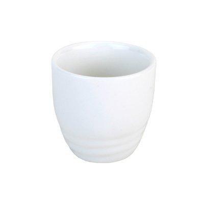 1 X White Porcelain Sake Cup #a1888