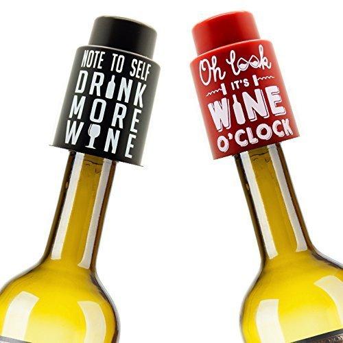 VinoPlease 2 Vacuum Wine Stoppers