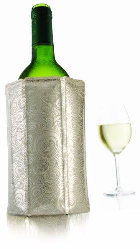 Vacu Vin Rapid Ice Wine Cooler - Platinum