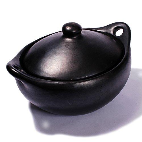 Ancient Cookware La Chamba Oval Casserole Medium 4 Quarts
