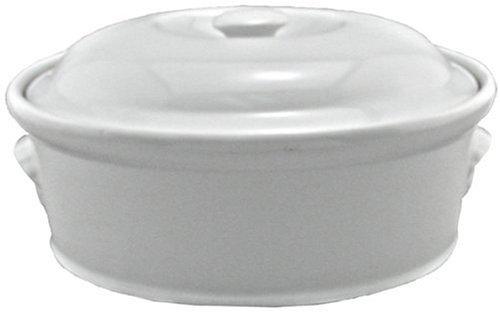 BIA Cordon Bleu 4-Quart Oval Casserole White