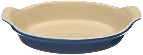 Le Creuset Heritage Stoneware 24-Ounce Oval Au Gratin Dish Marseille