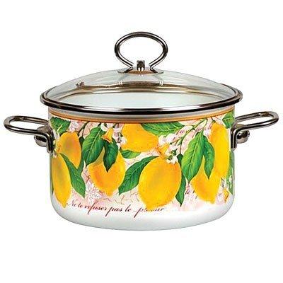 Enamel Pot Lemon