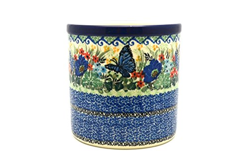 Polish Pottery Utensil Holder - Unikat Signature U4600