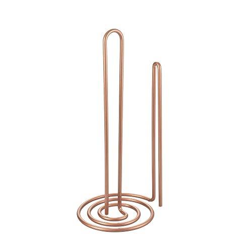 Metaltex My Roll Vertical Kitchen Paper Holder Polytherm Copper 15 x 15 x 32 cm