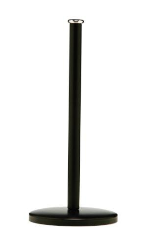Premier Housewares Kitchen Roll Holder - Black