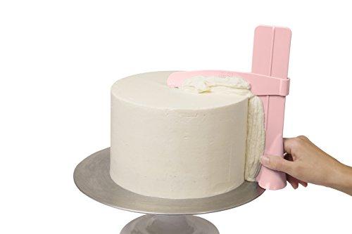 The ProFroster - The Original Adjustable Cake Scraper Edge Smoother fondant cake decorating spatula …