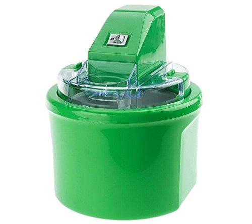 Cooks Essentials 1 qt Fully Automatic Ice Cream Maker Green